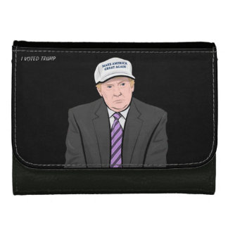 Donald Trump Leather Wallet