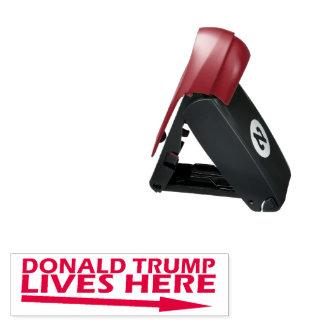 Donald Trump Lives here Pocket Stamp
