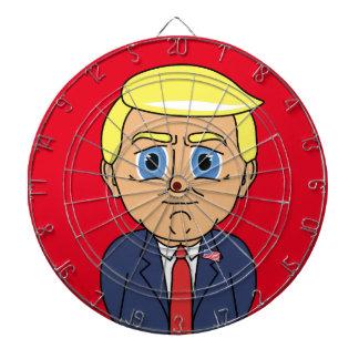Donald Trump Looking Smug Dart Board