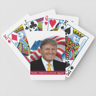 Donald Trump Make America Great Again Bicycle Playing Cards