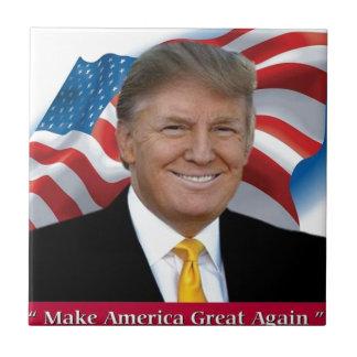 Donald Trump Make America Great Again Ceramic Tile