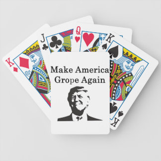 Donald Trump: Make America Grope Again Bicycle Playing Cards