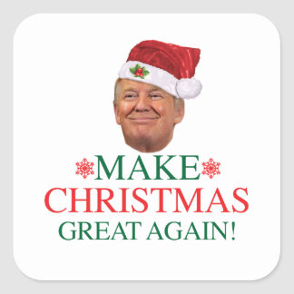 Donald Trump - Make Christmas Great Again Sticker