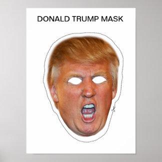 Donald Trump Mask Poster