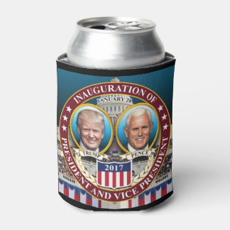 DONALD TRUMP MIKE PENCE PRESIDENTIAL INAUGURATION CAN COOLER