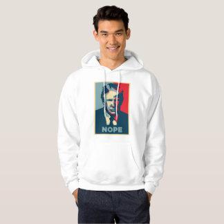 donald trump nope mens hooded sweatshirt hoodie