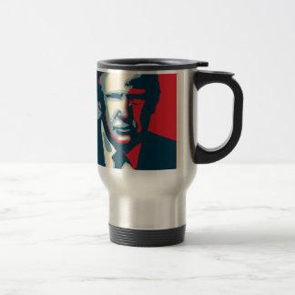 donald trump nope travel mug