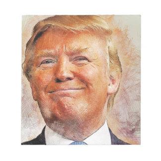 Donald Trump Notepad