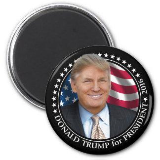 Donald Trump Photo - President 2016 6 Cm Round Magnet