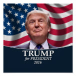 Donald Trump Photo - President 2016 Poster
