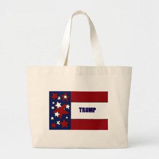 Donald Trump Political Designs Jumbo Tote Bag