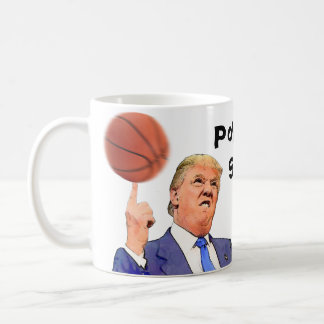 Donald Trump Political Satire mug | Basketball cup