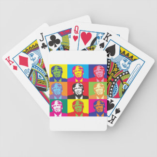 Donald Trump Pop Art Bicycle Playing Cards