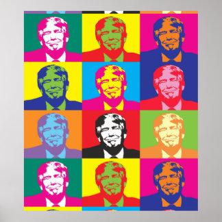 Donald Trump Pop Art Value Poster Paper