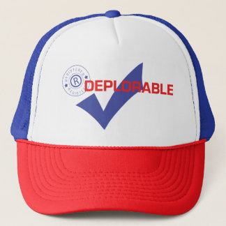 Donald Trump Registered Deplorable Trucker Hat