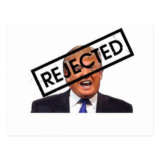 Donald Trump: REJECTED!! Postcard