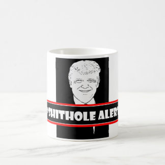Donald trump Shithole alert Coffee Mug