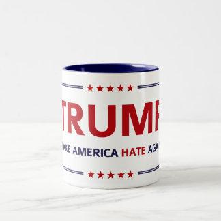 Donald Trump Slogan Parody Elections Two-Tone Coffee Mug