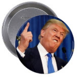 Donald Trump - Telling it like it is 10 Cm Round Badge