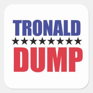 Donald Trump - Tronald Dump Sticker