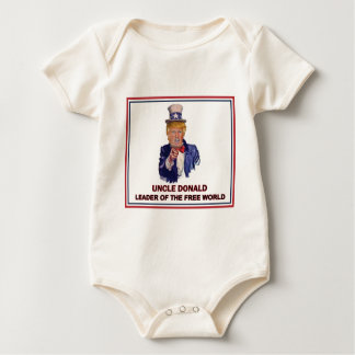 Donald Trump / Uncle Sam Leader of the free world! Baby Bodysuit