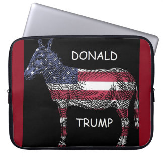 Donald Trump - What a Donkey Laptop Sleeve