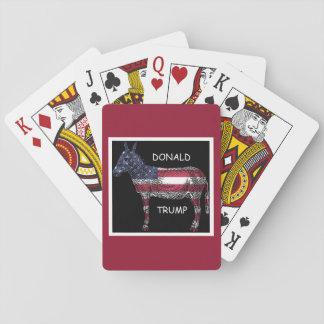 Donald Trump - What a Donkey Playing Cards