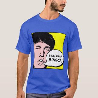 Donald Trump Yelling BINGO! - Funny Pop Art T-Shirt