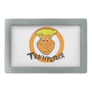 Donald Trumpeteer Caricature Belt Buckles