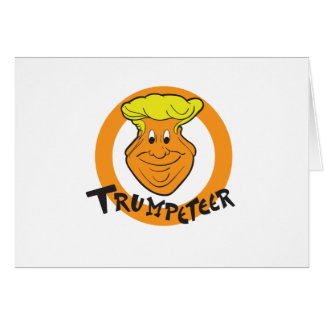 Donald Trumpeteer Caricature Card