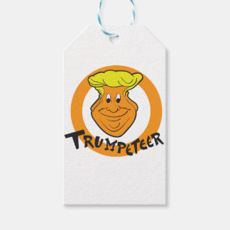 Donald Trumpeteer Caricature Gift Tags