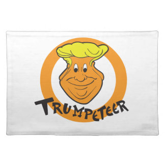 Donald Trumpeteer Caricature Placemat