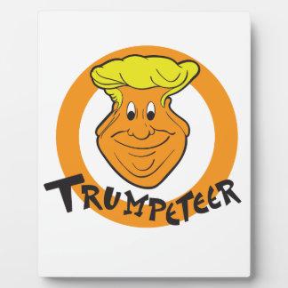 Donald Trumpeteer Caricature Plaque