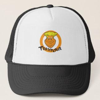 Donald Trumpeteer Caricature Trucker Hat