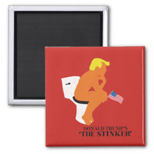 Donald Trump's The Stinker Funny Magnet
