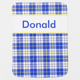 Donald's Personalized Blanket