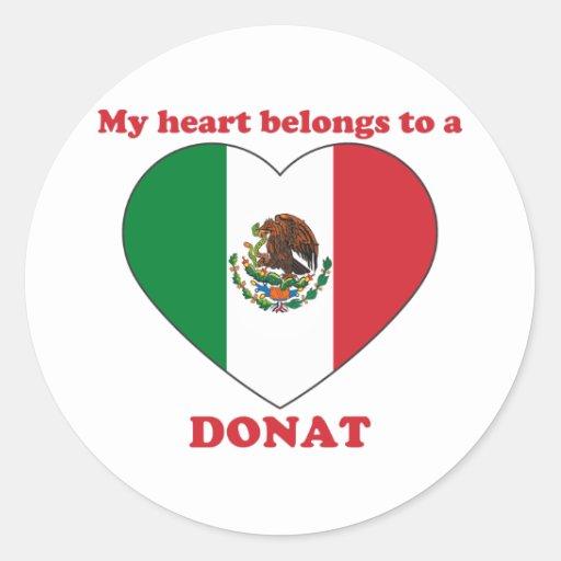 Donat Stickers