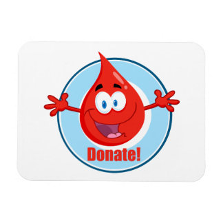 Donate Blood Magnet