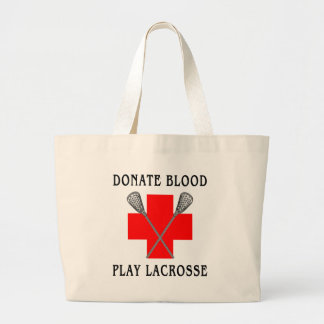 Donate Blood Play Lacrosse Gift Bags