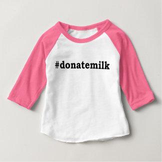 #donatemilk baby T-Shirt
