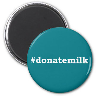 #donatemilk with white writing magnet