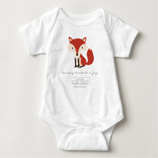 Donating Breastmilk is Foxy One Piece Baby Bodysuit