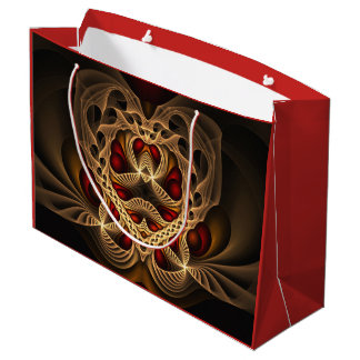 Donation ashes of hearts large gift bag