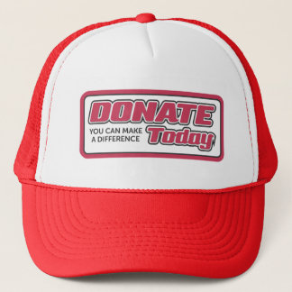 Donations hat, for sale ! trucker hat
