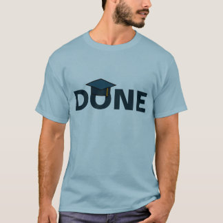 Done Blue Mortarboard T-Shirt
