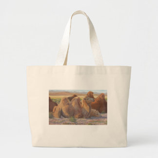 """""""Done for the Day"""" Large Tote Bag"""