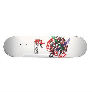 Done In Extreme SK8 Skateboard (white)