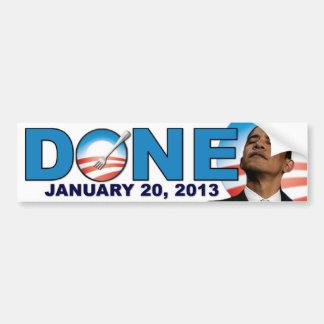 DONE - January 20 2013 - Anti Obama Bumper Sticker