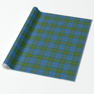Donegal County Irish Tartan Wrapping Paper