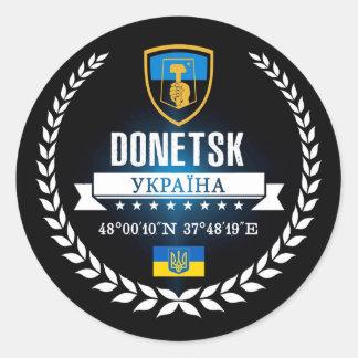 Donetsk Classic Round Sticker